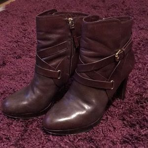 Vince Camuto Boysenberry Leather Boots